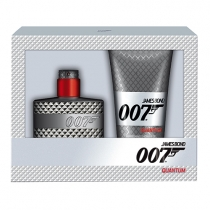 Coffret James Bond Quantum Masculino Eau de Toilette