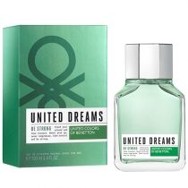 United Dreams Be Strong Masculino Eau de Toilette