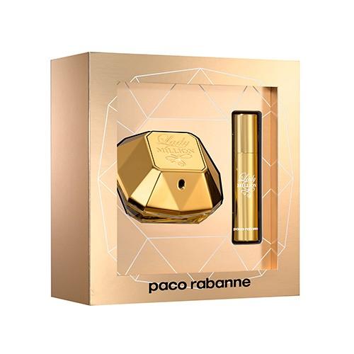 Estojo Lady Million Paco Rabanne Eau de Parfum Feminino 50 Ml