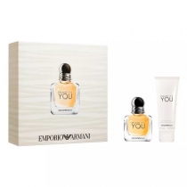 Kit Coffret Giorgio Armani Because It's You She Feminino Eau de Parfum