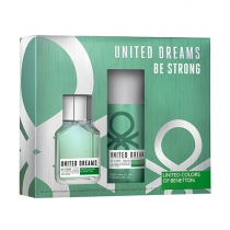 Coffret United Dreams Be Strong Masculino Eau De Toilette