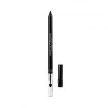 Lápis de Olhos Eyeliner Waterproof Crayon Longue Tenue Avec Estompe Et Taille-Crayon