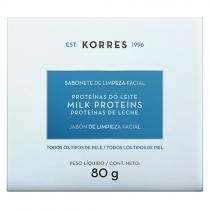 Sabonete De Limpeza Facial Proteínas Leite
