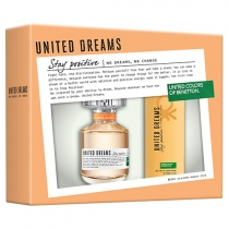 Coffret Benetton Stay Positive Feminino Eau de Toilette