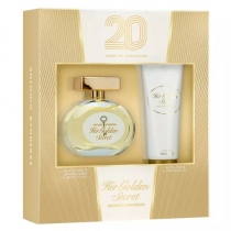 Kit Coffret Antonio Banderas Her Golden Secret Eau de Toilette