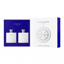 Kit Coffret Azzaro Chrome Pure Masculino Eau de Toilette