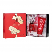 Kit Coffret com Body Lotion Cacharel Amor Amor Feminino Eau de Toilette