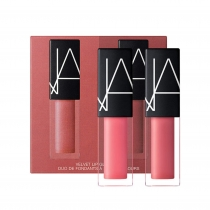 Kit de Batons NARS Mini Velvet Lip Glide Duo Night Together e Rapture