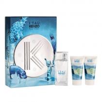 Kit Coffret L'eau Kenzo Femme Feminino Eau De Toilette