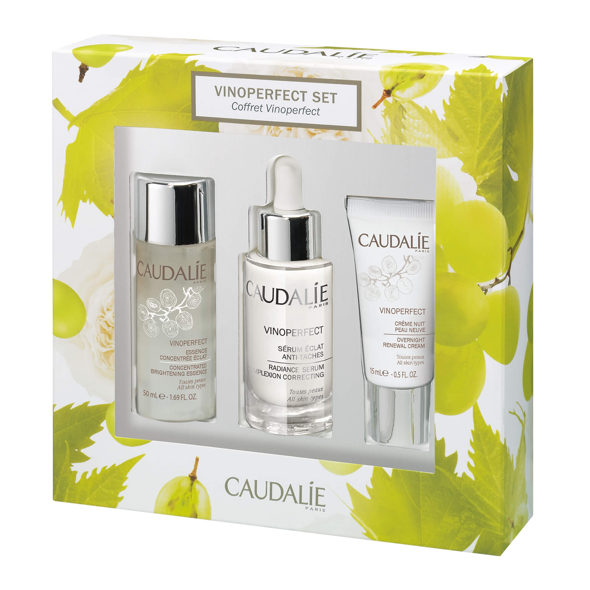 Kit Antimanchas Vinoperfect Caudalie