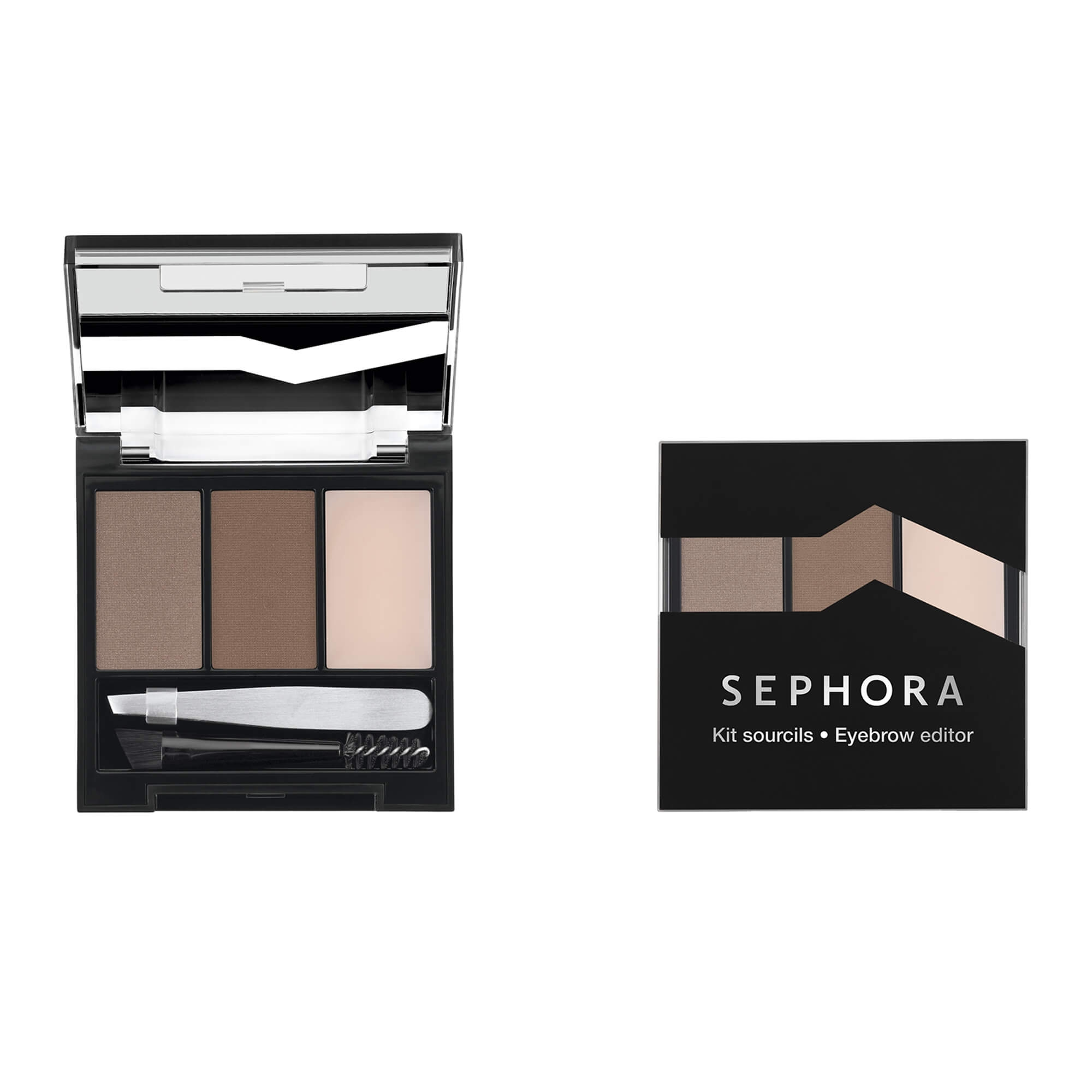 Kit de Sobrancelhas Sephora Collection Eyebrow Editor